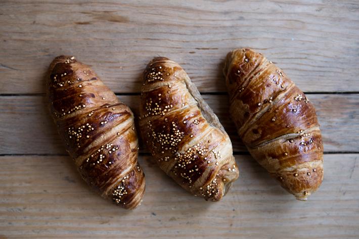 Agenda gastronomica Madrid Bump Green croissant