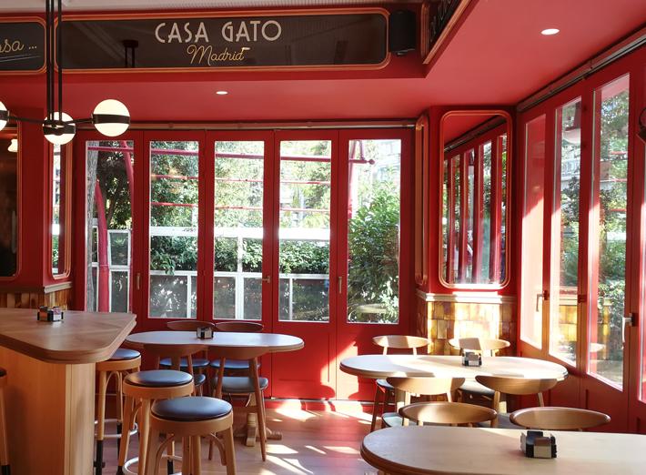 Agenda gastronomica Madrid CASA-GATO