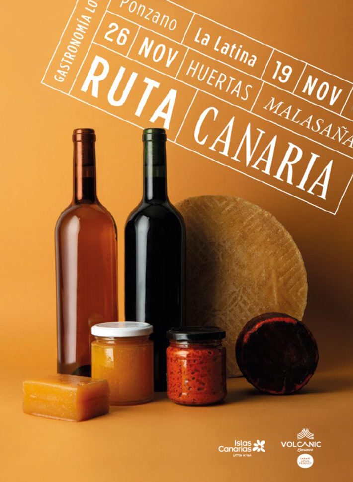 Agenda gastronomica Madrid VOLCANICXperience