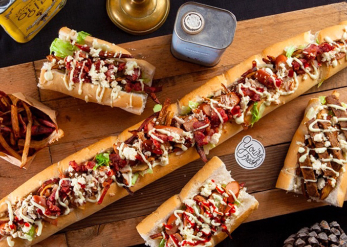 Los mejores sandwiches del mundo THE-GATSBY