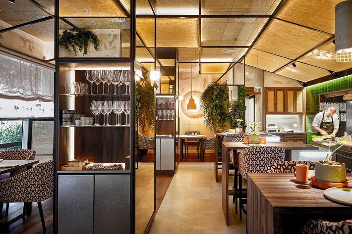 restaurantes con estrella michelin Madrid El-Invernadero