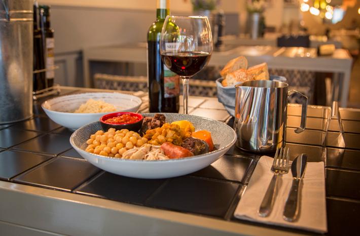 Agenda gastronomica Madrid Cocido El escondite de villanueva