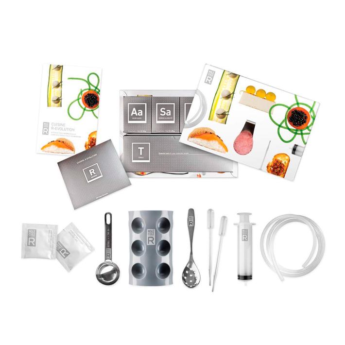 Regalos para foodies kit cocina molecular