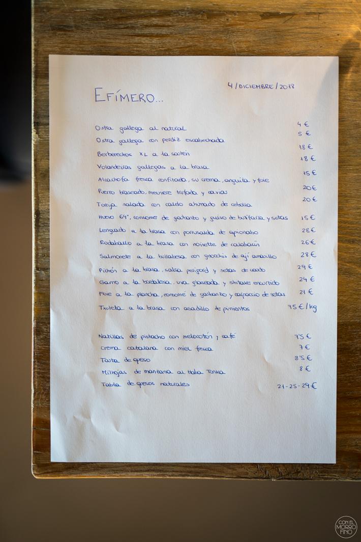 Restaurante Efimero Madrid 03