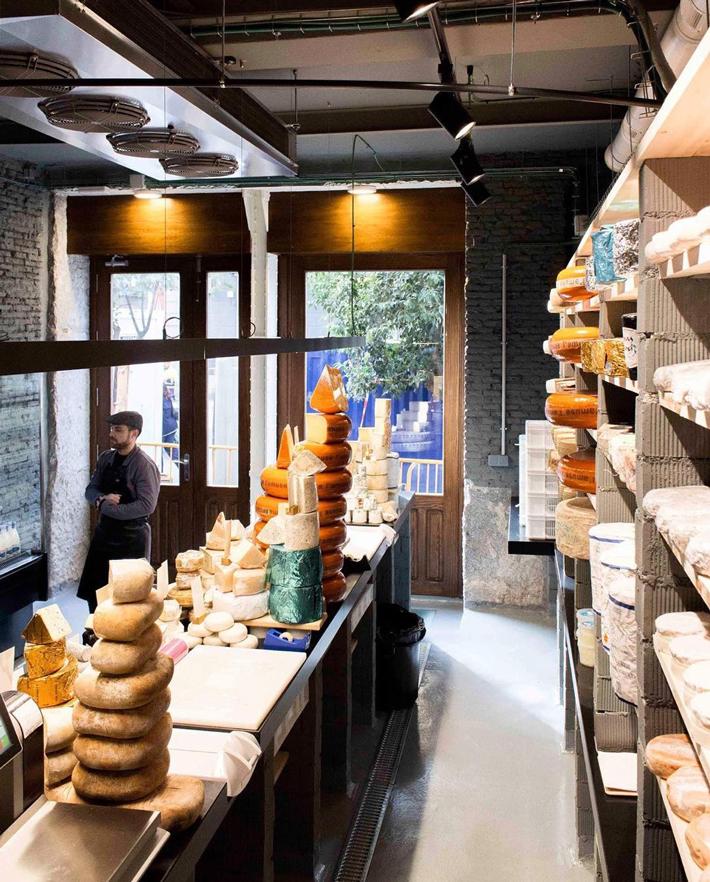 Agenda gastronomica Madrid Queseria Cultivo