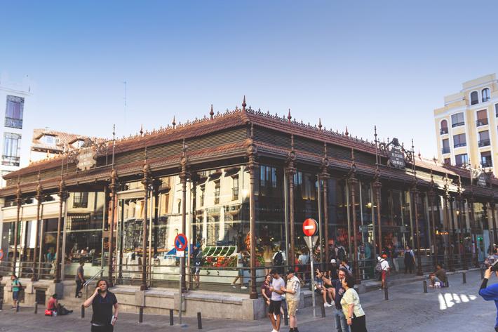 Agenda gastronomica de Madrid Dias de Mercado