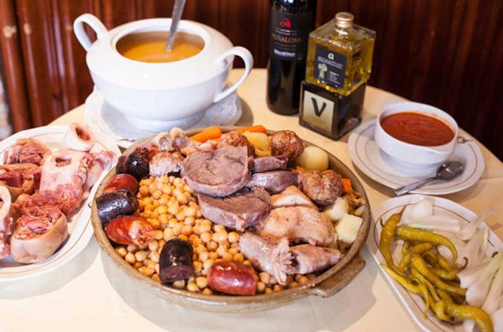 Agenda gastronomica de Madrid RUTA-COCIDO Madrileno
