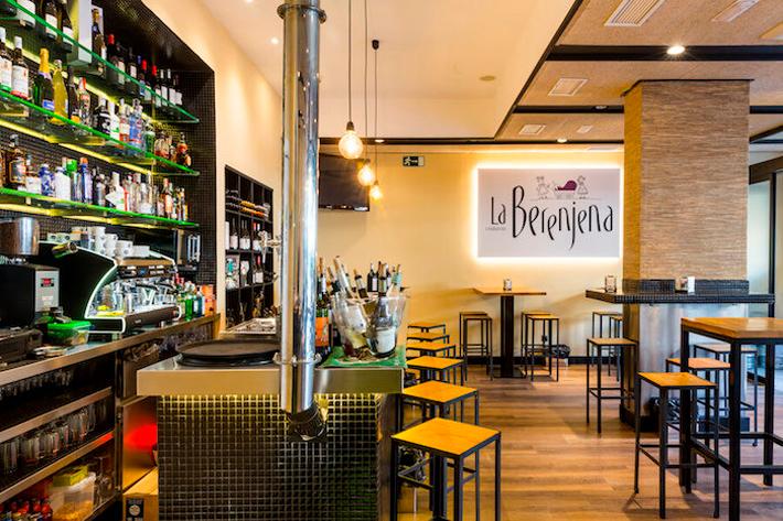 Soles Repsol en Madrid Restaurante La Berenjena Via Madrid Diferente