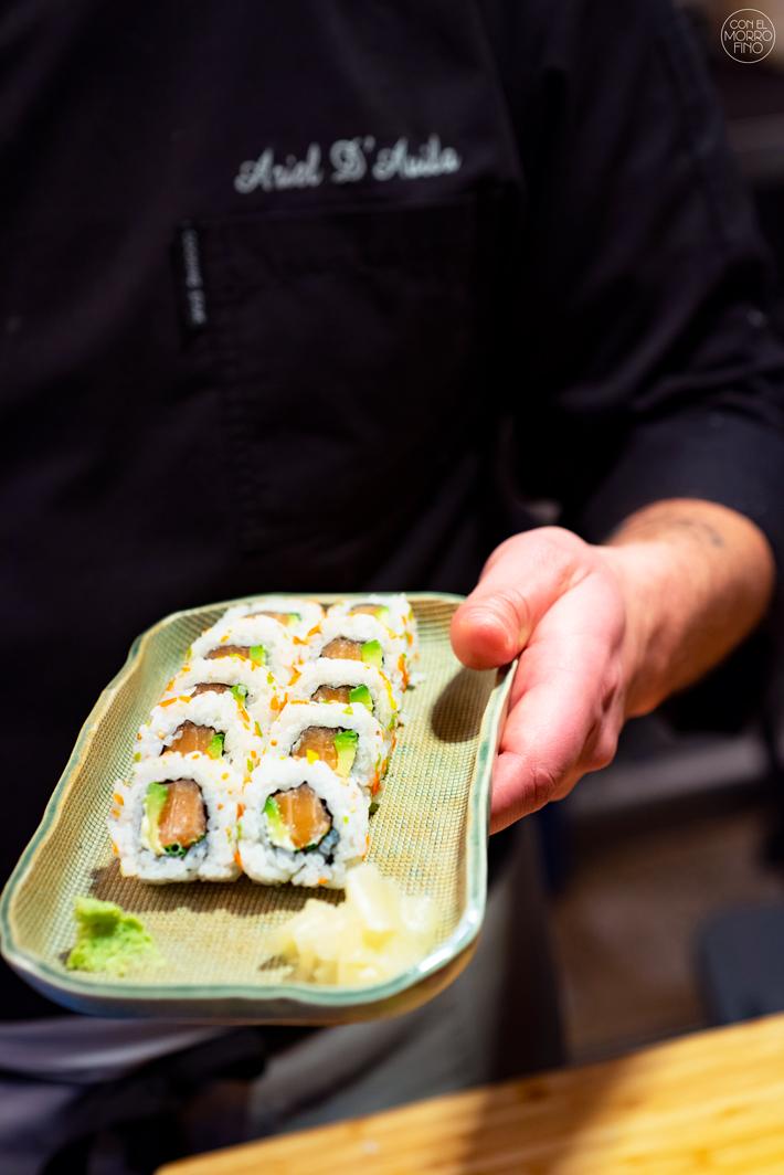 Sushi en Bici Japones Mercado de la Cebada 10