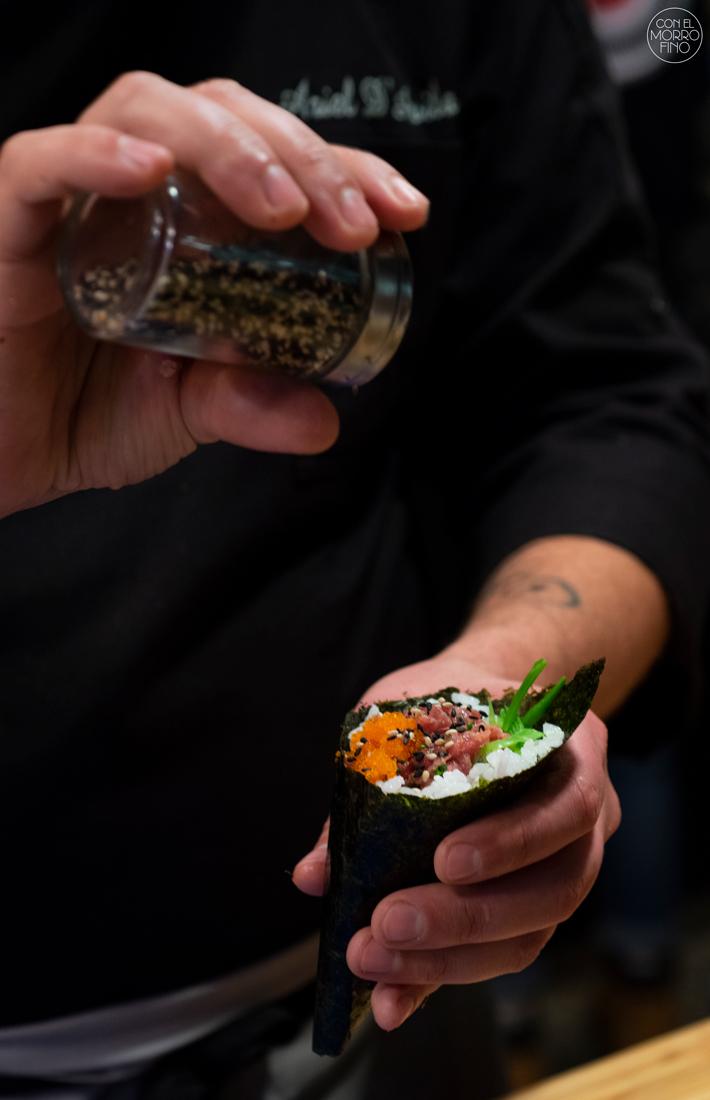 Sushi en Bici Japones Mercado de la Cebada 11