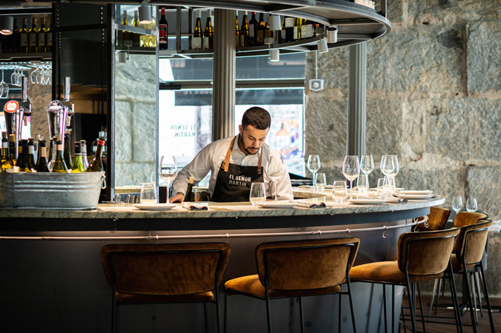 Agenda gastronomica de Madrid Barra Senor-martin restaurante