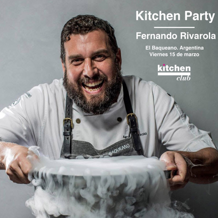 Agenda gastronomica de Madrid Kitchen-party
