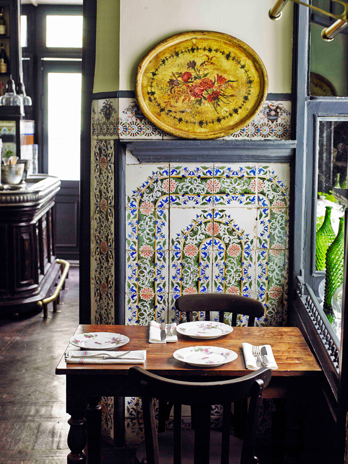 Agenda gastronomica de Madrid Taberna La Carmencita