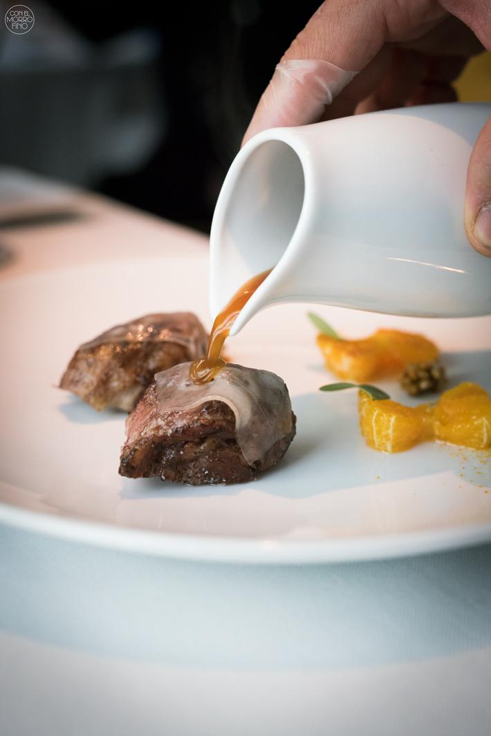 Restaurante Ramses con Arzak Madrid 09