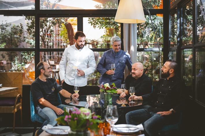 Agenda gastronomica de Madrid Arzabal-y-Etxanobe