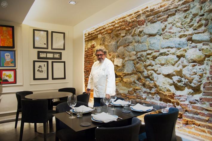 Agenda gastronomica de Madrid Juanjo Lopez Menu a 4 manos
