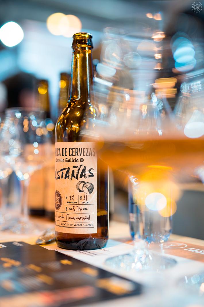 Cata de Cervezas Fabrica-de-Cervezas-Estrella Galicia Salon Gourmets 03