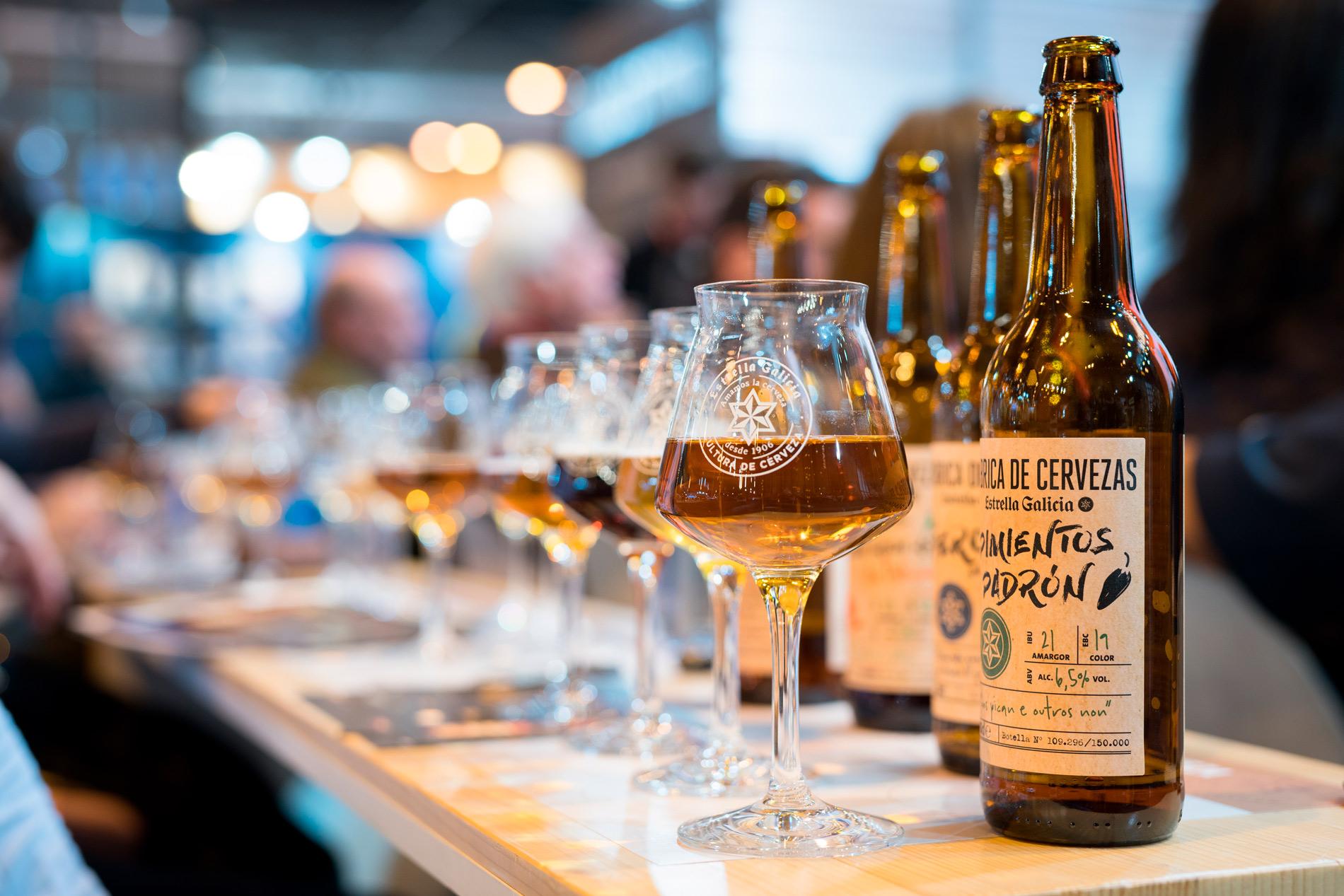 Cata de cervezas en el Salón Gourmets, by Estrella Galicia