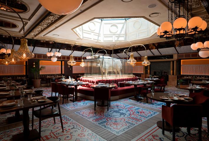 Restaurante Etxeko Hotel Bless Madrid 01