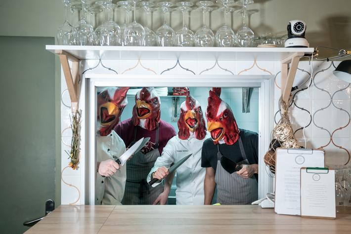 Agenda gastronomica de Madrid Pelea-de-Gallos-Mawey Tres-por-Cuatro