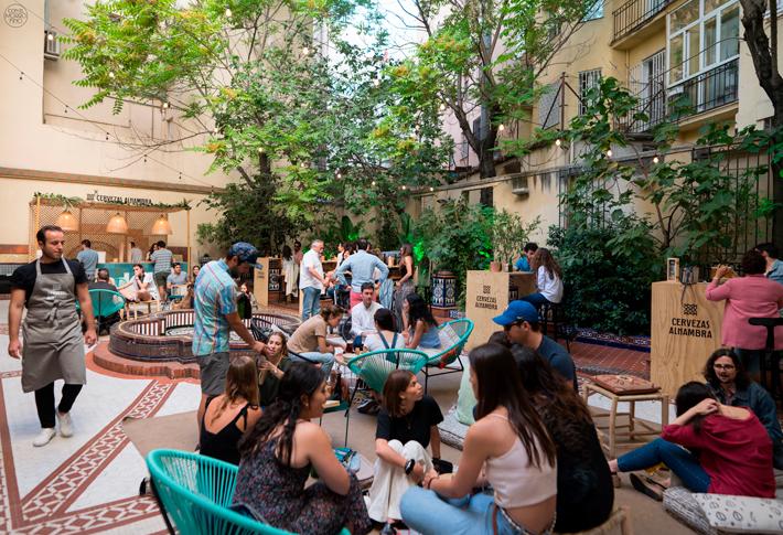 Jardin Cervezas Alhambra Madrid 01