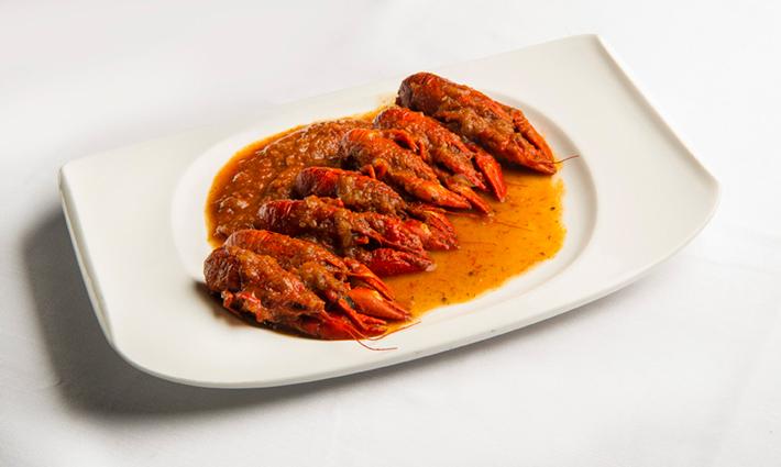 Agenda gastronomica de Madrid La Cocina de Maria Luisa Cangrejos de rio