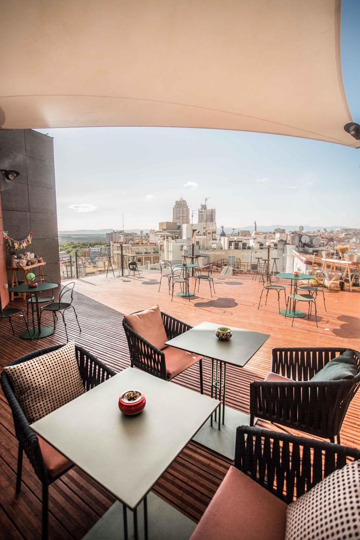 Agenda gastronomica de Madrid Mad Mex Hotel Indigo
