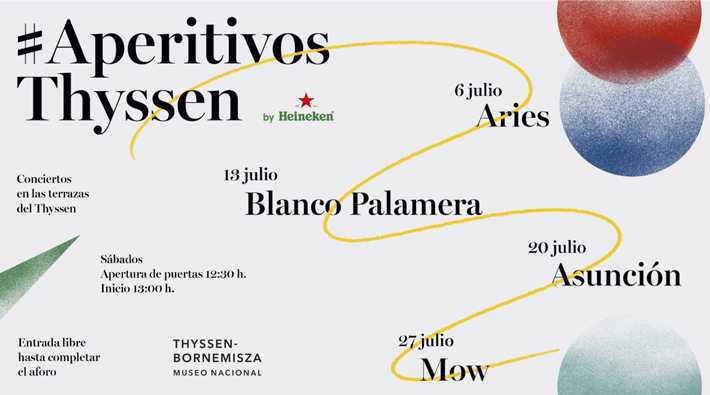 Agenda gastrononmica de Madrid APERTIVOS-THYSSEN