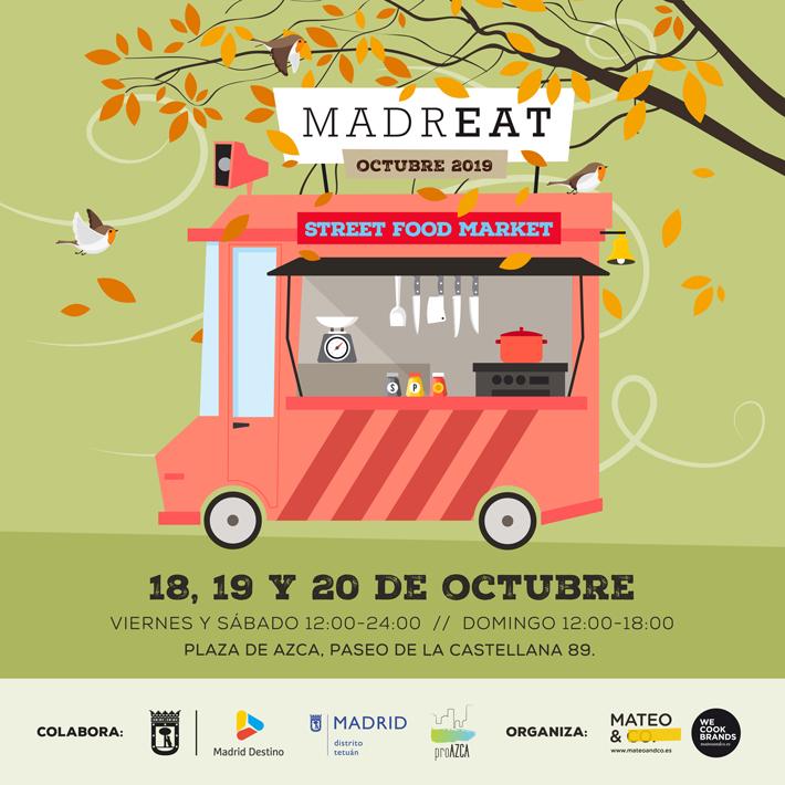 Agenda gastronomica de Madrid Madreat Octubre