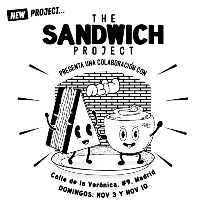 Agenda gastronomica de Madrid The Sandwich Project Acid Cafe