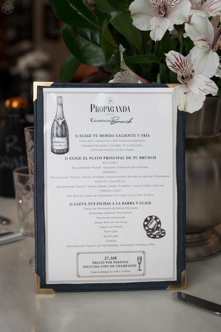 Champagne Brunch Propaganda Madrid 04