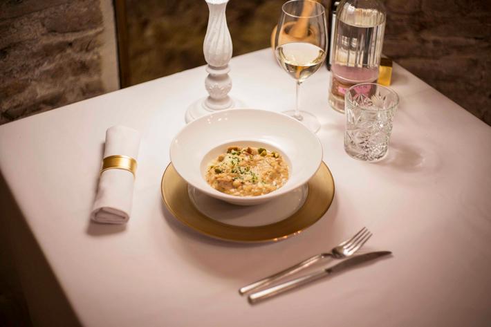 Agenda gastronomica de Madrid Bodega de los Secretos Platos Setas