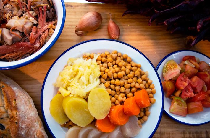 Agenda gastronomica de Madrid Domingos-de-Cocido-y-Siesta Hotel Indigo Madrid de Gran Vía