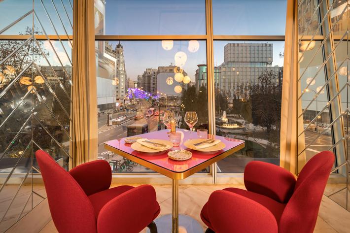 Agenda gastronomica de Madrid Hotel Week