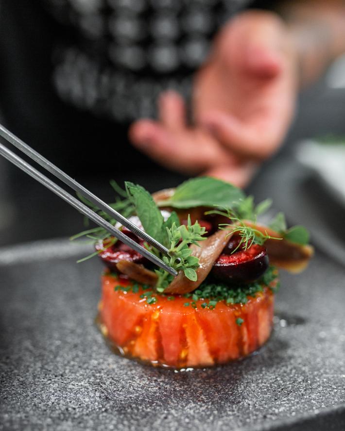 Agenda gastronomica de Madrid Restaurante Alabaster