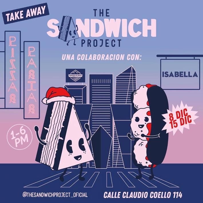 Agenda gastronomica de Madrid Restaurante The Sandwich Project Isabella