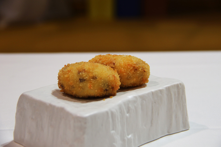 Agenda gastronomica de Madrid Croqueta Ivan Cerdeno