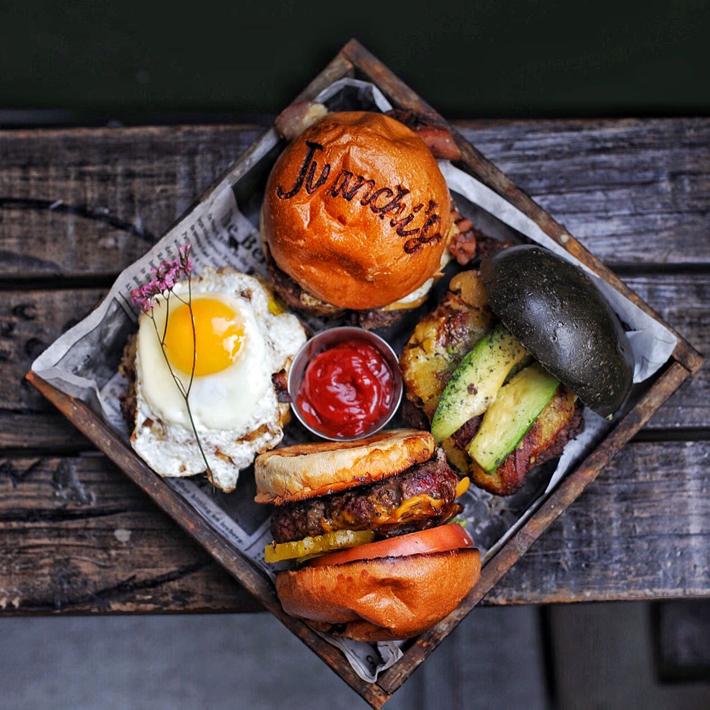 Agenda gastronomica de Madrid Juanchis Burger