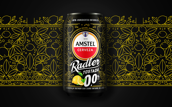 Agenda gastronomica de Madrid Amstel Radler Tostada 0.0