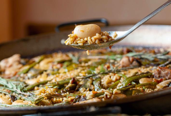 Agenda gastronomica de Madrid Berlanga_Paella-valenciana