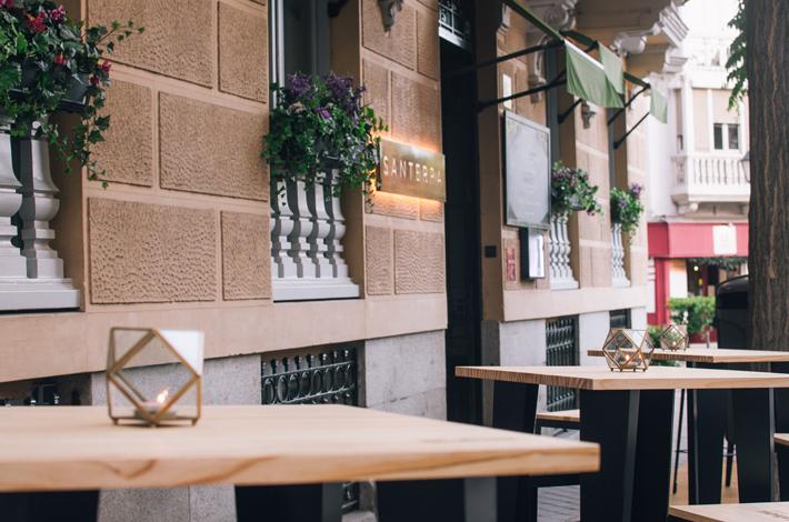 Agenda gastronomica de Madrid Santerra Terraza