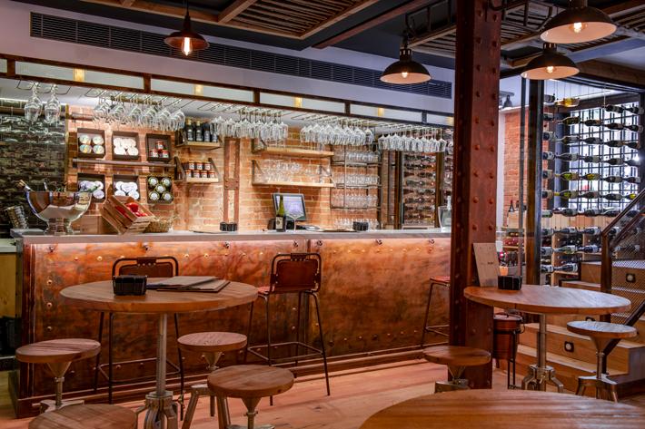 Bares y restaurantes baratos Madrid El-Marginal