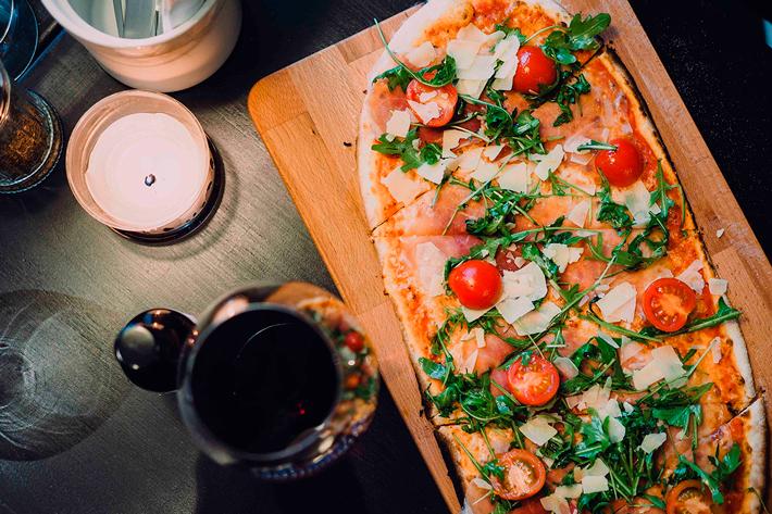 Las mejores pizzas del mundo LUIGI Pizzeria