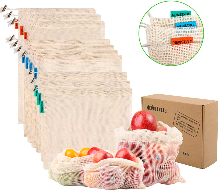 Utensilios-de-cocina-sostenible-Bolsas-de-algodon