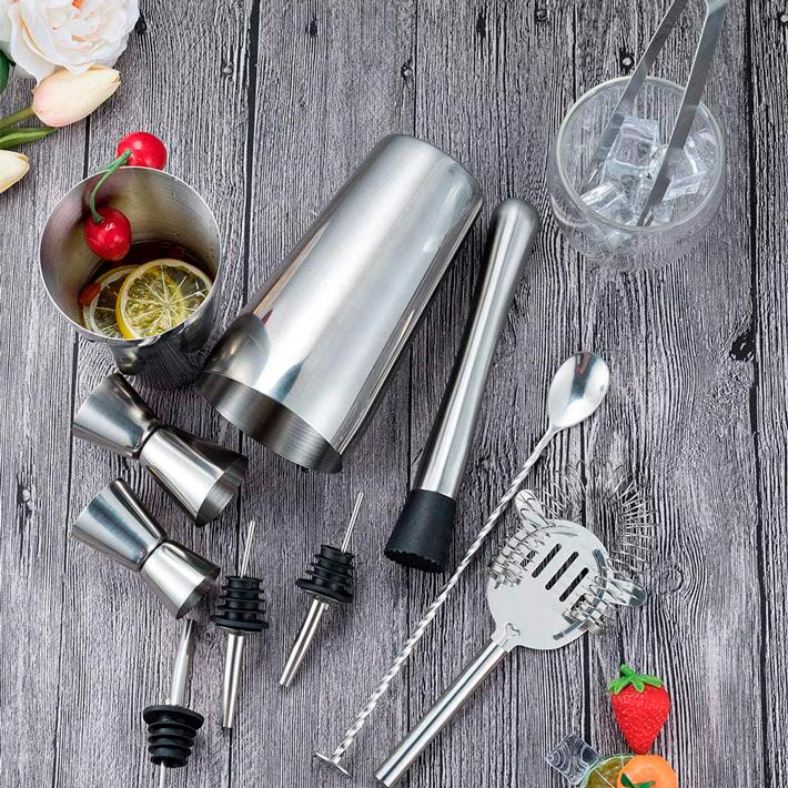 utensilios de cocina para el verano kit profesional cocteleria