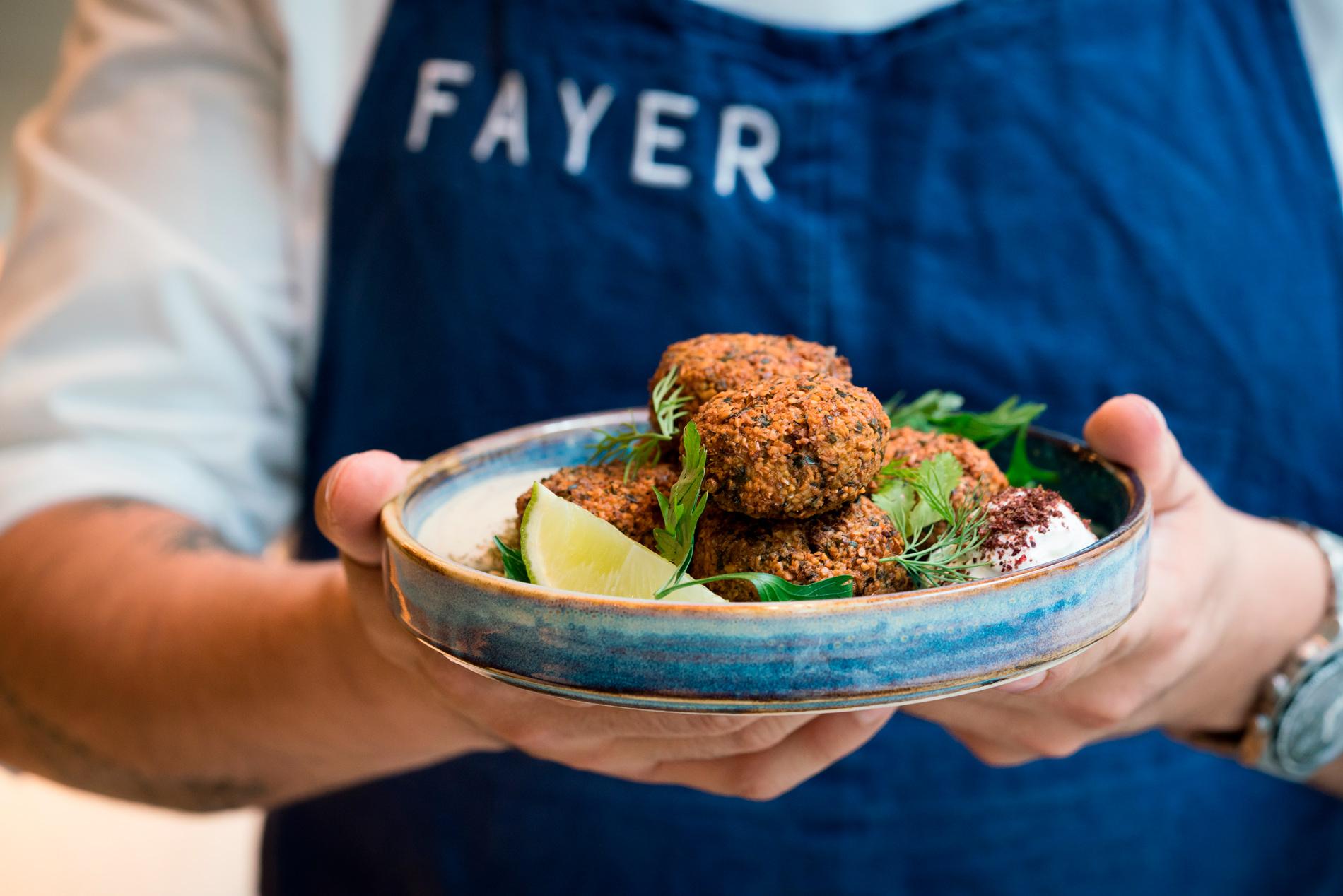 Receta para elaborar un espectacular Falafel (Restaurante Fayer)