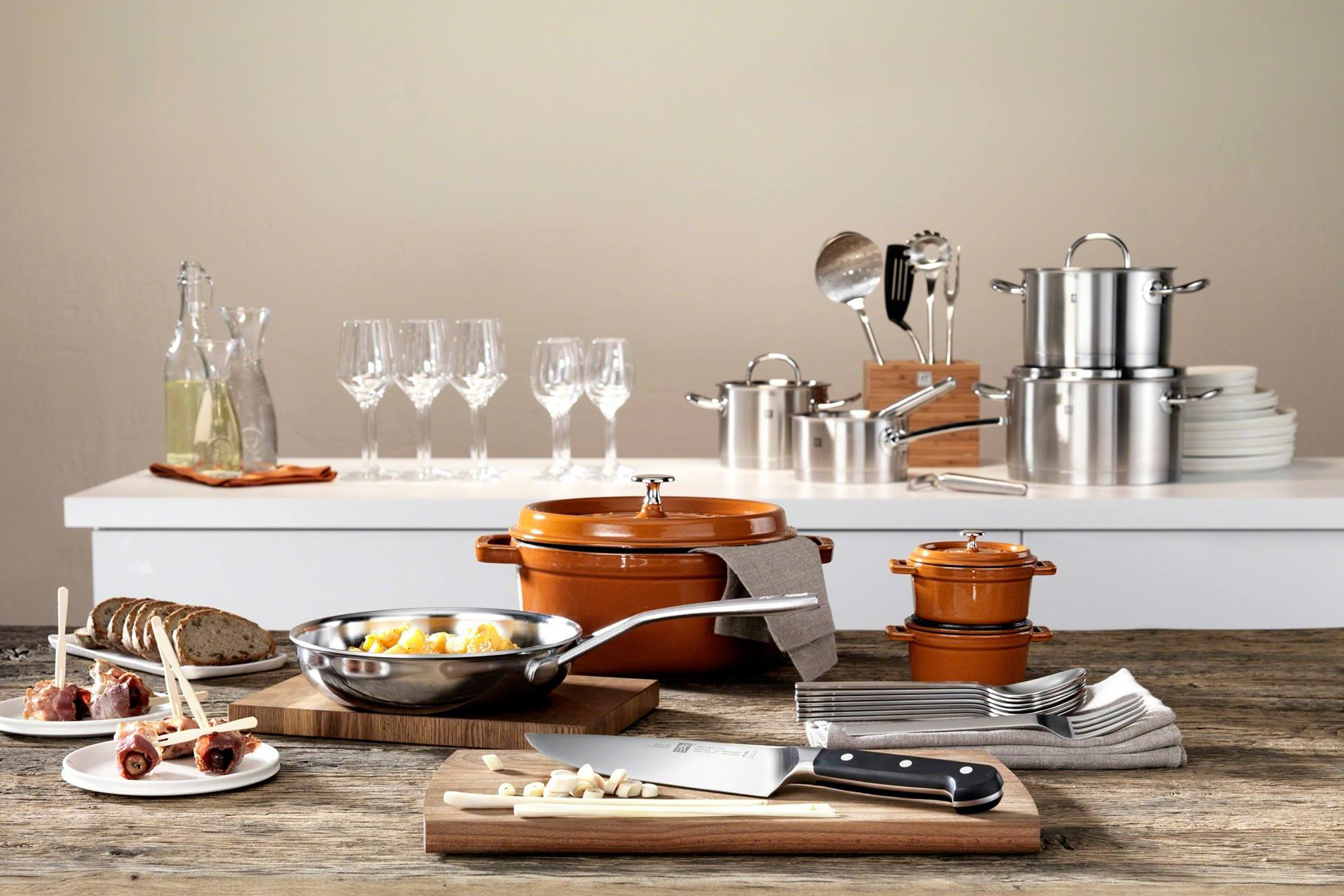Diseño y tecnología, 290 años al servicio de los gadgets de cocina